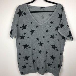 3/$20 Torrid Star Print Dolman Sweater Top